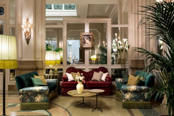 inside Grand Hotel et de Milan